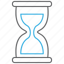 deadline, hourglass, sandglass, time, timer icon