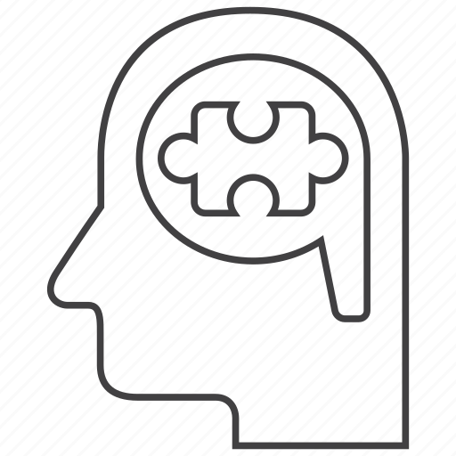 game, idea, logical, puzzle, thinking, thought, thoughts icon