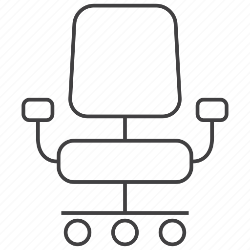business, chair, chairman, desk, office, seat icon