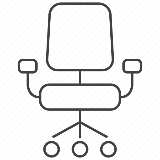 business, chair, desk, furniture, manager, office, seat icon