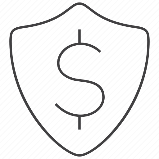 Shield, finance, money, protection, secure, security icon - Download on Iconfinder