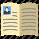book, note book, open, reading icon, user book icon