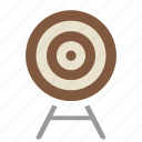 accuracy, aim, darts, target icon icon
