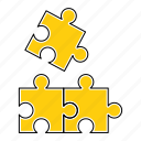 business, idea, marketing, puzzle, seo, solutions, strategy icon
