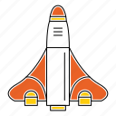 business, design, marketing, rocket, seo, startup icon