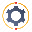 cogwheel, development, process, settings icon