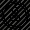 aim, client, goal, marketing, target icon