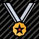 achievement, award, medal, reward icon