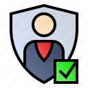 access, authentication, authorization, security icon