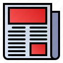 article, news, newsletter, newspaper icon