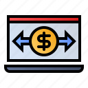 business, online, payment, transaction icon