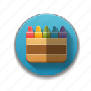 color scheme, colorful, colors, creative, creativeity, school, unique icon