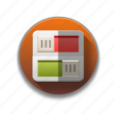 colorful, flat icon, indicator, power, switch, toggle