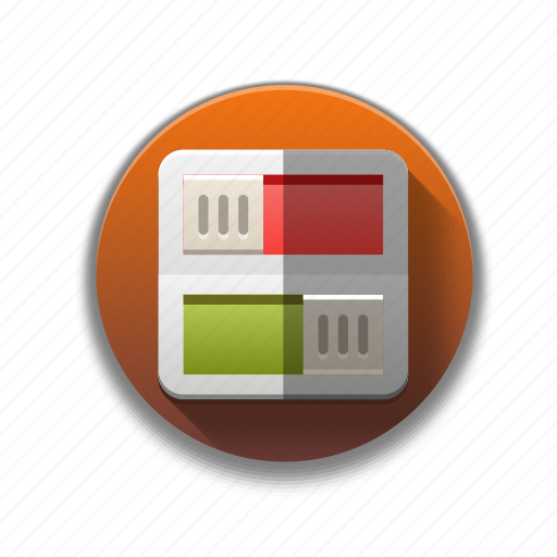 colorful, flat icon, indicator, power, switch, toggle icon