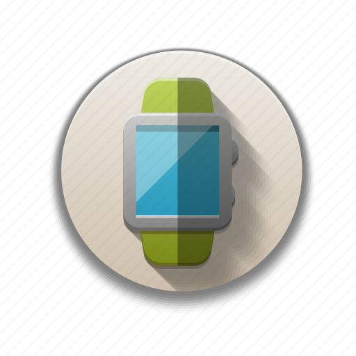 colorful, smart watch, stopwatch, time, timer, watch, wrist watch icon