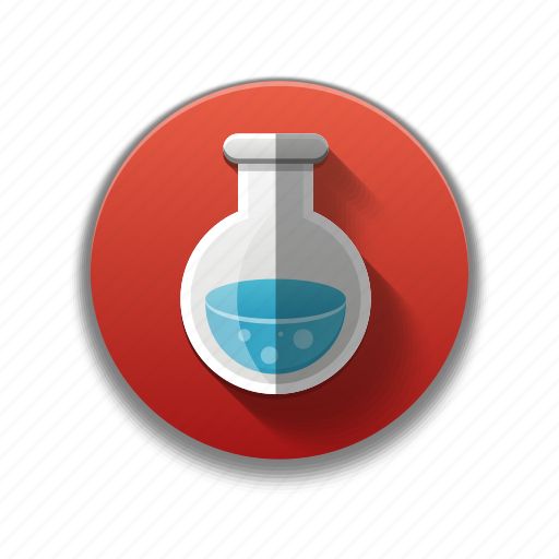 checmical, chemistry, colorful, flask, laboratory, medicine, vaccine icon