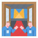business, event, meeting, partner, staff icon