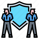 business, guard, meeting, protection, security icon