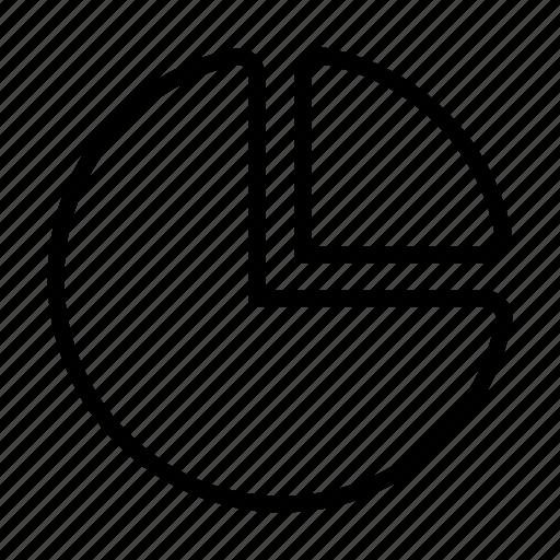 business, chart, circle, graph, percent icon