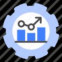 productivity, efficiency, potential, capability, performance, ability, cogwheel icon