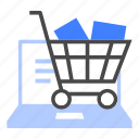 online, store, cart, commerce, e-commerce, ecommerce, purchase icon
