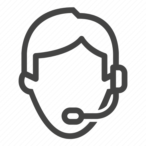 customer service, online, service, support, telephone icon