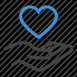 health, healthcare, heart, love, maintenance, trust icon