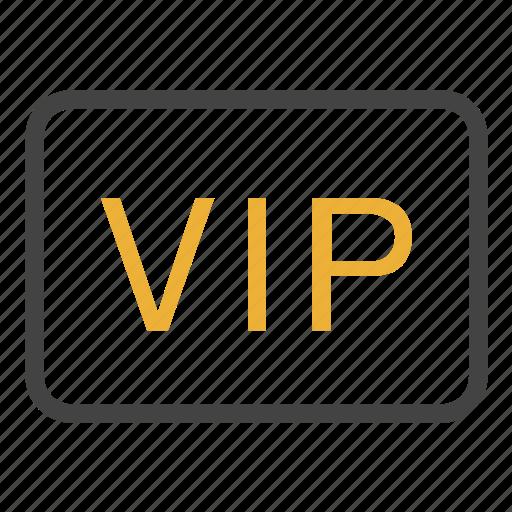 card, id, identity, member, vip icon