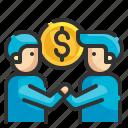 partner, partnership, corporate, handshake, agreement