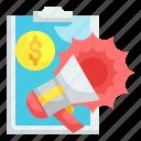 marketing, campaign, promotion, megaphone, advertisement
