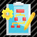 plan, implement, scheme, planning, diagram