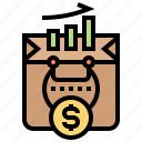 business, finance, marketing, sale, shopping icon