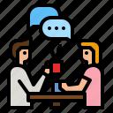 communication, response, conversation, talking, communications