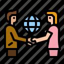 partner, trust, cooperation, deal, hand