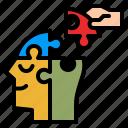 psychology, mental, head, medicine, jigsaw