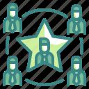 leadership, teamwork, group, network, team