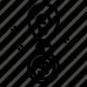 balloon, cash, coin, idea, money icon