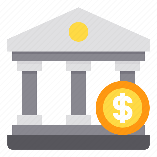 bank, business, cash, coin, money icon