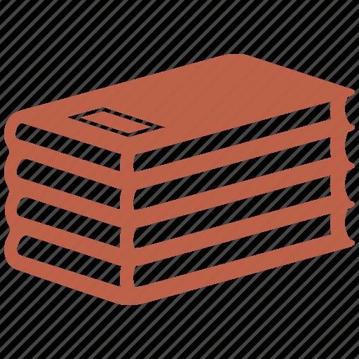 book, books, reading, stack icon