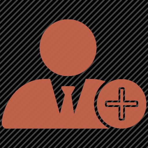 avatar, male, man, person, pluse, user icon