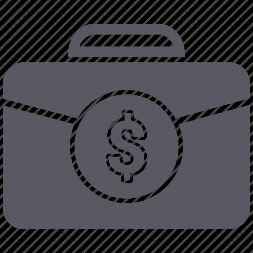 Case, bag, office, portfolio icon