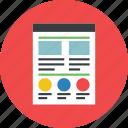 design, page, web, web design, web page icon icon