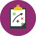 clipboard, plan icon icon