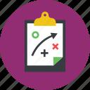 clipboard, plan icon icon