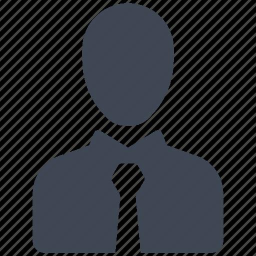 businessman, consultant, employee icon