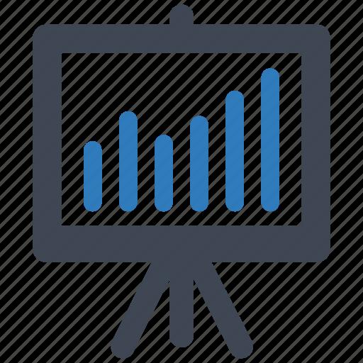 business, graph, report icon