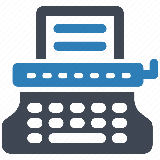 Machine, typewriter, typing icon - Download on Iconfinder