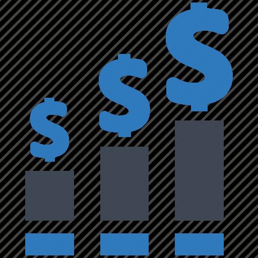 growth, increase, profit icon