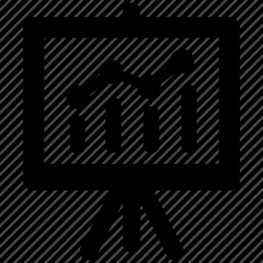 business, presentation, report icon