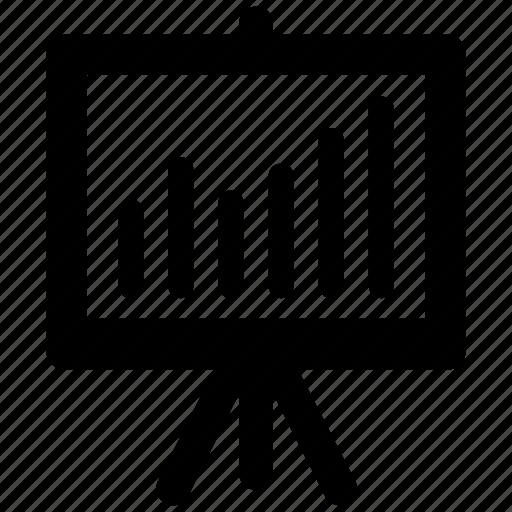 analysis, diagram, presentation icon